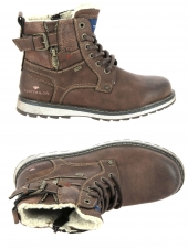 boots tom tailor 7971204 marron