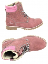 boots fourres tom tailor 3770802 rose