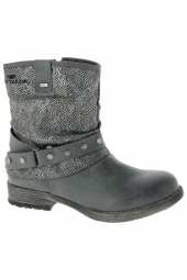 bottines fashion tom tailor 1670906 gris