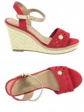 espadrilles tom tailor 4890805 rouge