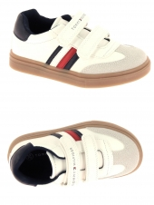 chaussures basses tommy hilfiger t1b4-30903-0621x336 blanc