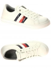chaussures basses tommy hilfiger t3a4-30799-1018100 blanc