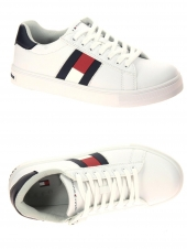 chaussures basses tommy hilfiger t3b4-30921-0900x336 blanc