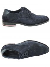 derbies tommy hilfiger fm0fm02450 bleu