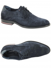 derbies tommy hilfiger fm0fm03115 bleu