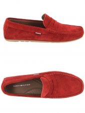 loafers tommy hilfiger fm0fm02725 rouge