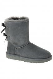 bottes fourrees ugg bailey bow gris