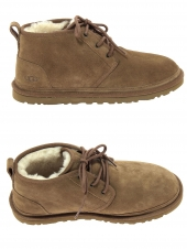 chaussures montantes fourrees ugg neumel marron