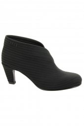 bottines fashion united nude fold mid noir