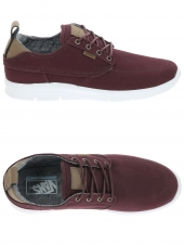 baskets mode vans brigata lite bordeaux