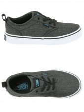 chaussures de skate basses vans atwood slip-on gris