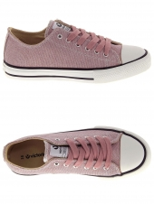 chaussures en toile victoria 1065108 rose