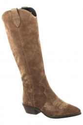 bottes fashion vivian ray jy19p22-1 marron