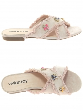mules vivian ray 1318-6 rose