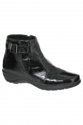 bottines casual waldlaufer 305802-192-007 noir