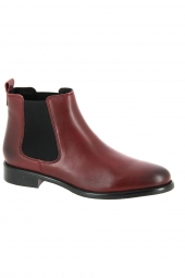 bottines de ville we do 77545b rouge