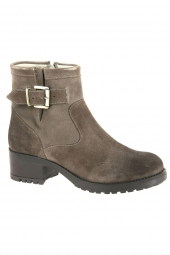 bottines fashion we do 99108d taupe