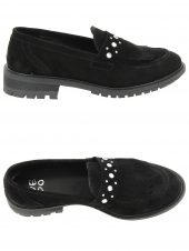 chaussures plates we do 11022f noir