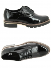 chaussures plates we do 22034cc noir