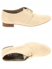 chaussures plates we do co8554r beige