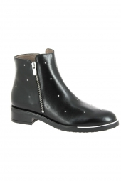 bottines de ville wonders c5434 noir