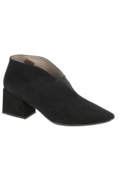bottines de ville wonders i7803 noir