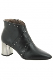 bottines de ville wonders l9734p noir