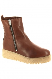 bottines fashion wonders a9508-m marron