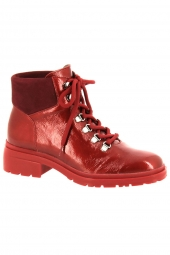bottines fashion wonders c4840 rouge