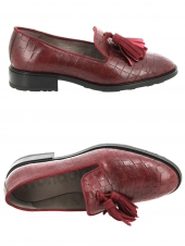chaussures plates wonders b7209 rouge