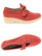 chaussures plates wonders c-33159 rouge
