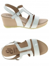 nu-pieds style casual wonders d7606 blanc