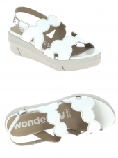 nu-pieds style casual wonders d8232 blanc